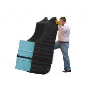 Caddys antiderrames para Tambores - Color Negro - Para Interior - Justrite 28663