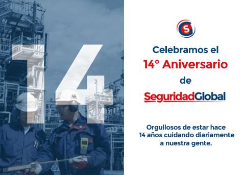 Festejo 14° aniversario de Seguridad Global