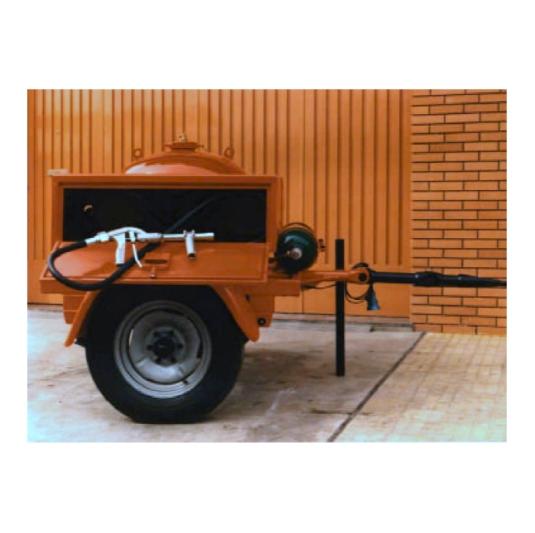 Carros Polvo Quimico EXTINTORES MOVILES DE POLVO QUIMICO 150, 250 Y 500 KG.