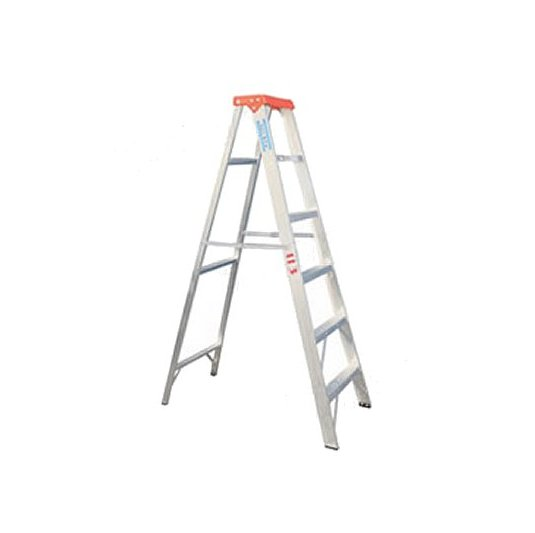 Escaleras de aluminio tijera simple acceso 113 Kgs