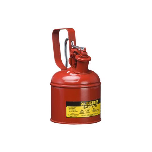 Bidón 10101 1 lt Tipo I para inflamables Justrite metalicos - Cap. 1 lts.