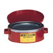 Bidón 10175 1 lt acero bidones de limpieza Justrite - 1 litro