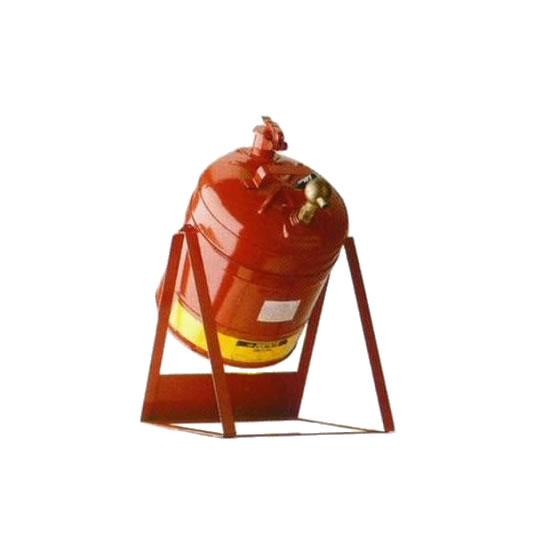 Bidones para laboratorio metálicos Justrite 10888 basculante con columpio y grifo 08902 - 19 lts.