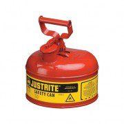 Bidón 7110100 2 lt Tipo I para inflamables Justrite (ex 10201) metalicos - Cap. 2 lts
