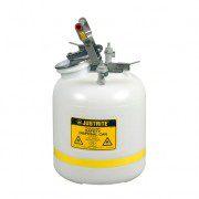 Bidón PP12755 19 lt Tipo I plast para laboratorio no metálicos Justrite - línea Centura™ Modelo PP - 19 lts.