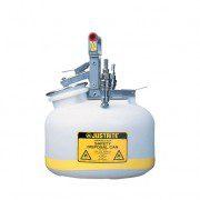 Bidón TF12752 8 lt Tipo I plast para laboratorio no metálicos Justrite - Linea Centura™ Modelo TF - 8 lts.