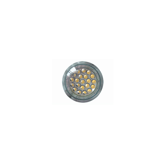 SPOTLIGHTS LED - LUZ BLANCA CALIDA - 12V / 1,3W