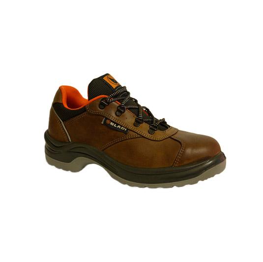 Zapatos de seguridad Bladi 211 con Bumper, fuelle y puntera de acero