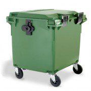 Contenedores para residuos - Plásticos de 1100 litros - 4 ruedas