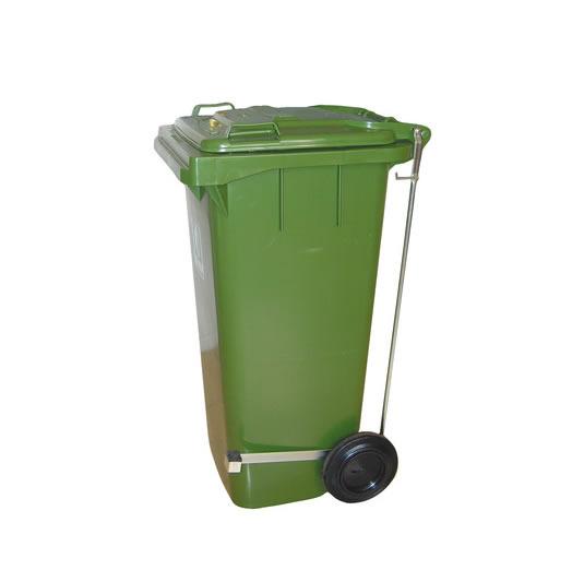Contenedores para residuos - Plásticos de 240 litros - 2 ruedas con pedal