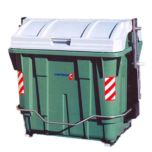 Contenedores para residuos de carga lateral de 2400 litros