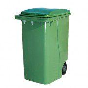 Contenedores para residuos - plásticos de 360 litros - 2 ruedas