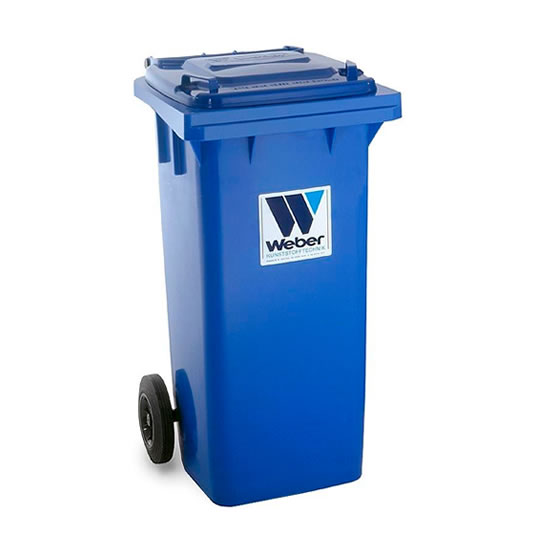 Contenedores para residuos - Plásticos de 120 litros - 2 ruedas