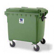 Contenedores para residuos - Plásticos - 4 ruedas