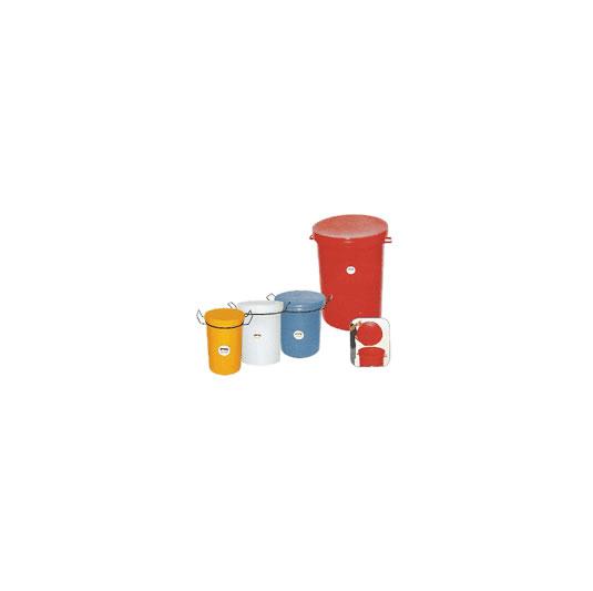 Recipientes cilíndricos para residuos - 3 a 210 lts