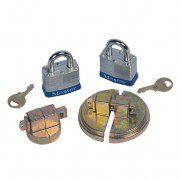 Tapones de seguridad 08510 para tambores de 200 litros Justrite