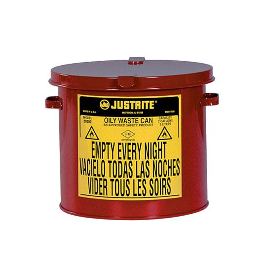 Tanques 9200 8 lt desechos aceitosos Justrite - Sobremesada - 8 litros