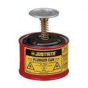 Humectadores 10008 1/2 lt de seguridad con pistón Justrite - Color rojo
