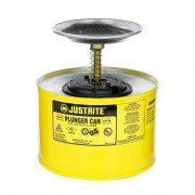 Humectadores de seguridad con pistón Justrite 10218 - 2 litro - Color amarillo
