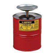 Humectadores 10308 4 lt de seguridad con pistón Justrite - Color rojo