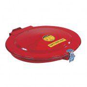 Tapas de seguridad 26752 para tambores de 200 litros, cierre manual con junta y ventilación Justrite