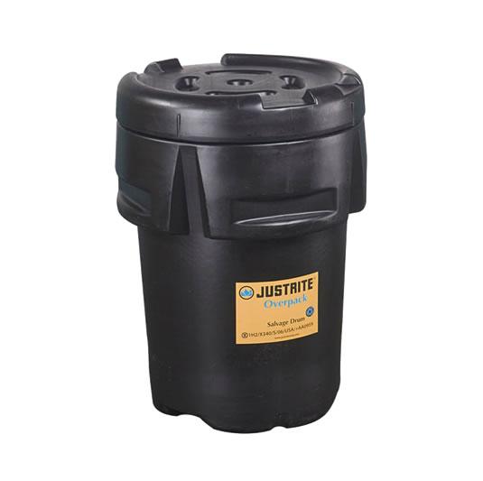 Porta Tambores Justrite 28203 Overpack™ - Color Negro