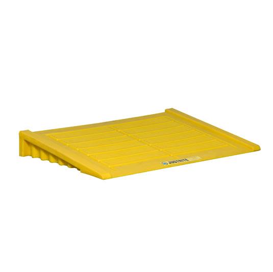 Rampas Justrite 28650 (ex AK28906) para centro de acumulación - Color amarillo