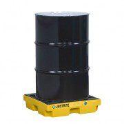 Centros de acumulación 28652 Justrite para 1 tambor Color amarillo (ex 28940) EcoPolyBlend™