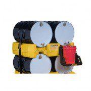 Apiladores 28668 para sistema de gestión de tambores Justrite Color Amarillo (Ex AK28903/AK28903Y) EcoPolyBlend™