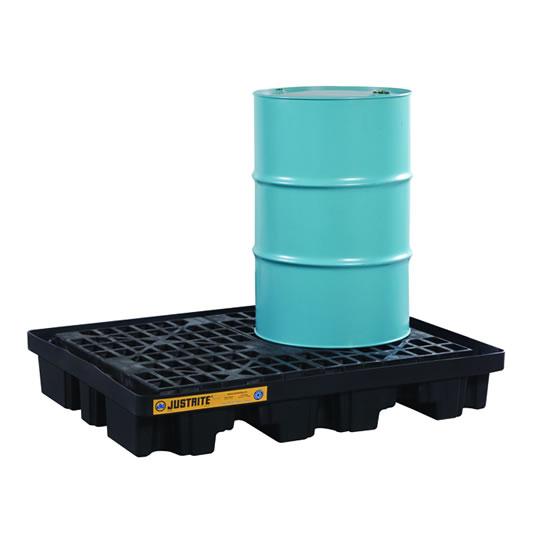 Pallet antiderrame 2t para 2 tambores cobertizo 28672