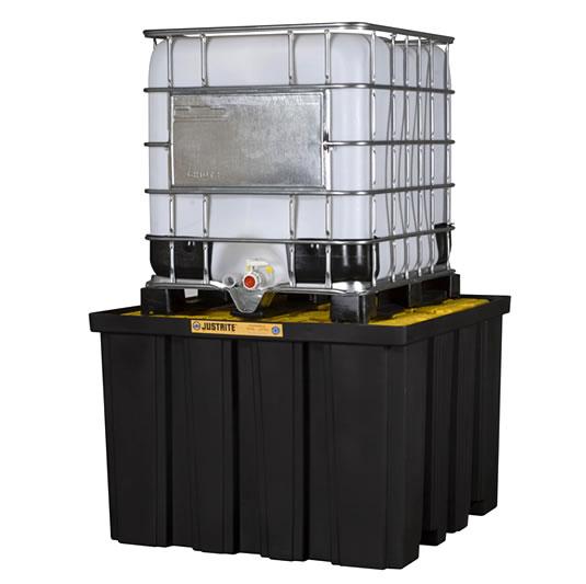 Pallet antiderrame IBC Justrite para contenedores IBC 28674