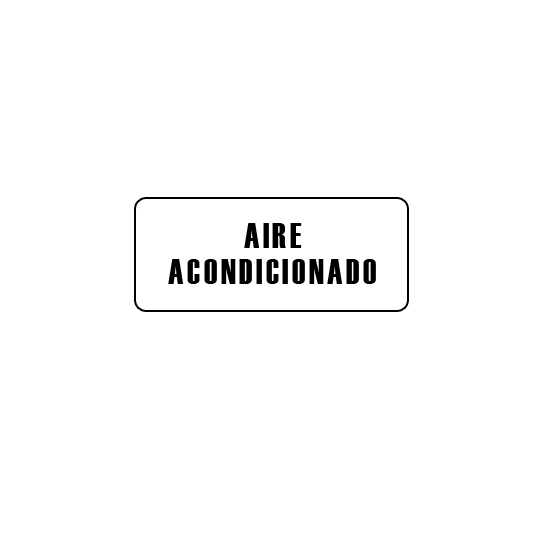 CARTELES AUTOADHESIVOS AIRE ACONDICIONADO