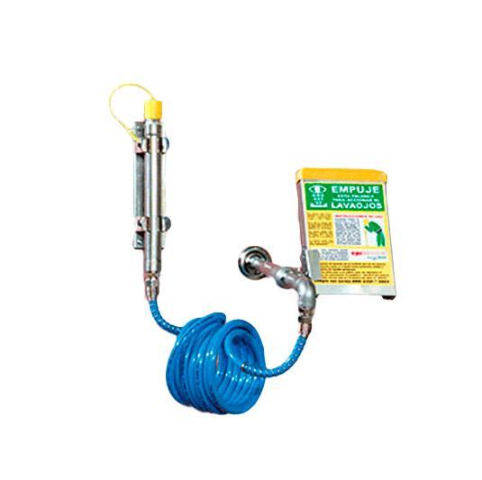Duchas de emergencia con lavaojos con manguera - 6032