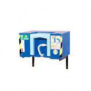 Lavaojos auto-contenedor 6040 plástico - Accionamiento por gravedad