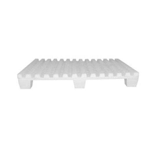 Pallets plásticos 3 o 9 patas para rack