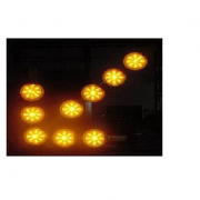 FLECHAS VIALES NOCTURNAS 9 OPTICAS DE 9 LEDS