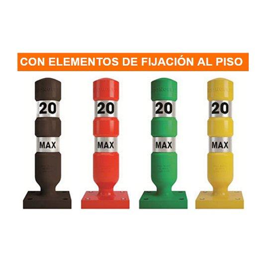 Mojones viales 1301 SEÑALIZACION VIAL CONOFLEX