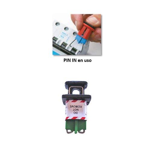 Bloqueadores eléctricos 90847 PIN-IN STANDARD