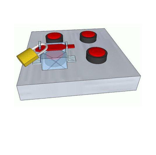 Kit de Bloqueo KB03 para llaves eléctricas