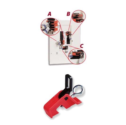Bloqueador de interruptores eléctricosNORTH CBU01