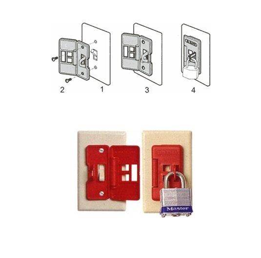 Bloqueador interruptores ES-01 eléctricos NORTH E-SAFE