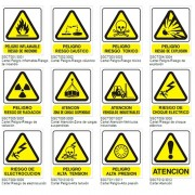 Carteles de señalización indust Advertencia Seguridad Industrial