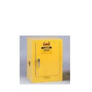 GABINETES 890400 4 Ga PM IGNIFUGOS JUSTRITE Ex-25040 BAJOMESADA 4 Galones Amarillos Puerta Manual
