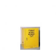 GABINETES IGNIFUGOS JUSTRITE 891220 Ex-25712 COMPAC - 12 GALONES - AMARILLOS - PUERTA AUTOMATICA