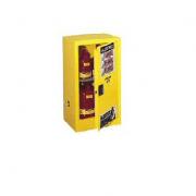 GABINETES IGNIFUGOS JUSTRITE 891521 Ex-25317R COMPAC - 15 GALONES - ROJOS – PUERTA AUTOMATICA