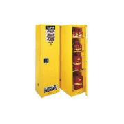 GABINETES 895400 54 Ga PM IGNIFUGOS JUSTRITE Ex-25844Y Delgados Profundos 54 Galones Amarillos Puerta Manual