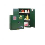 GABINETES 899004 90 Gal PM IGNIFUGOS Para pesticidas JUSTRITE 90 Galones Verdes Puertas manuales