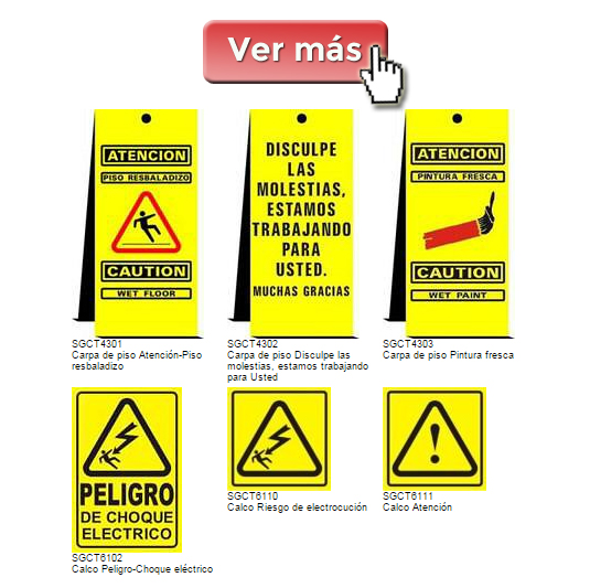 Carteles de Advertencia