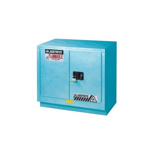 GABINETES 8837022 23 Ga PM IGNIFUGOS Para Corrosivos JUSTRITE ChemCor® Azules 23 Galones Puerta Manual