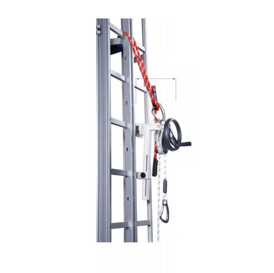Dispositivo descenso y rescate en altura Miller SafeEscape AG10 c/cuerda 50 metros